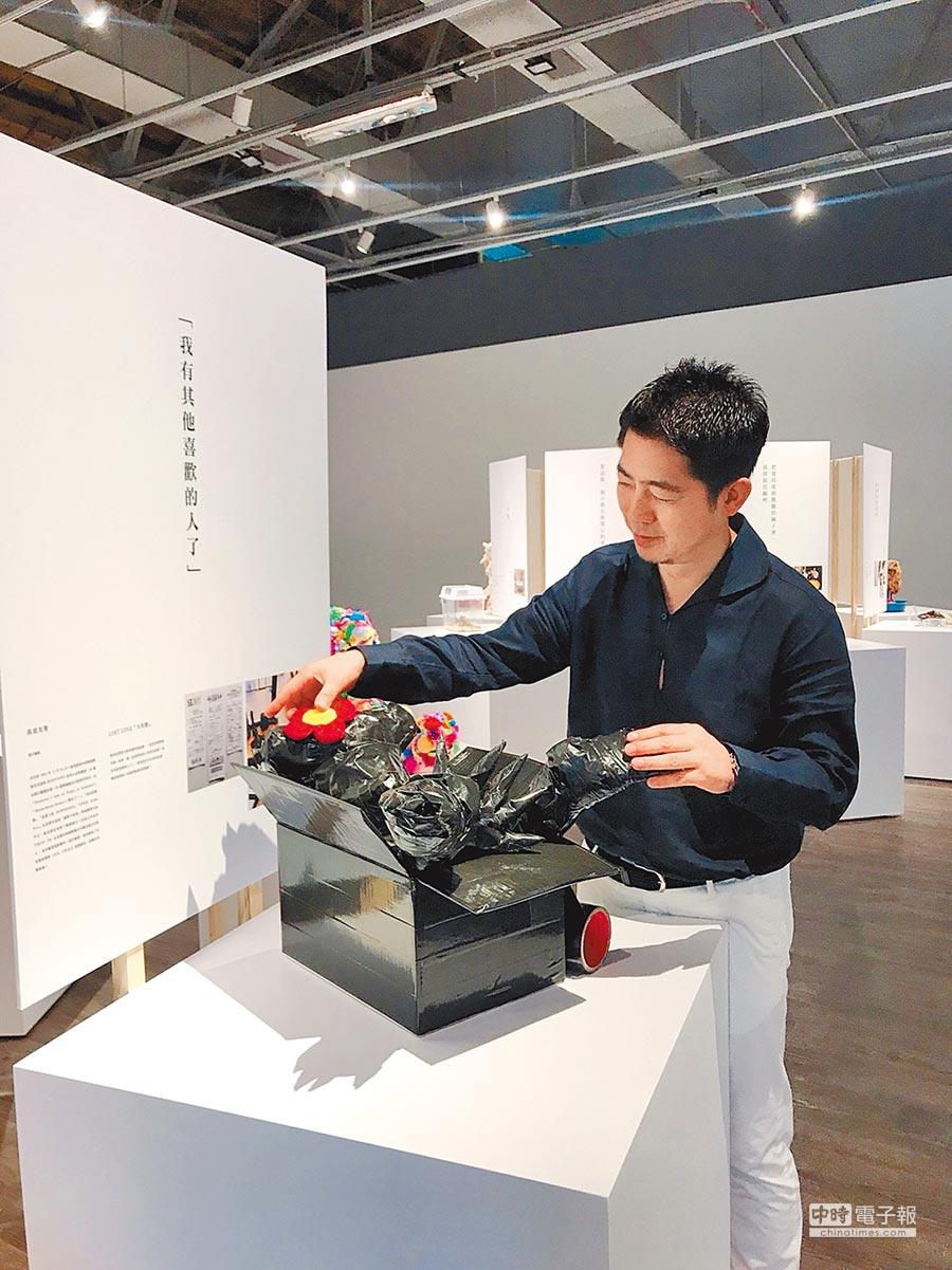 高須光聖自己也在展出中以一萬日圓創作泰迪熊藝術作品。