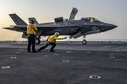 叙利亚情势紧张 美在中东首部署F-35B