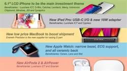 蘋果發表會大預測 新iPhone外還有哪些可期待?