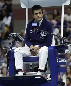 網球》美網爭議主審本周台維斯盃上工 表示:我很好!