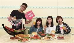 迎接開學季吃到飽餐廳  推4人同行1人免費