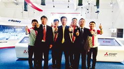 進駐智慧製造試營運場域 台灣三菱電機設示範產線 推廣e-F@ctory