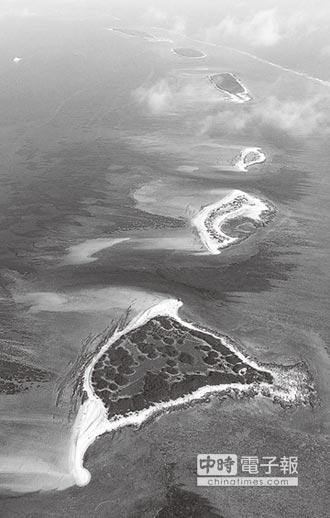 兩岸史話-南海人造島礁 規模大得驚人