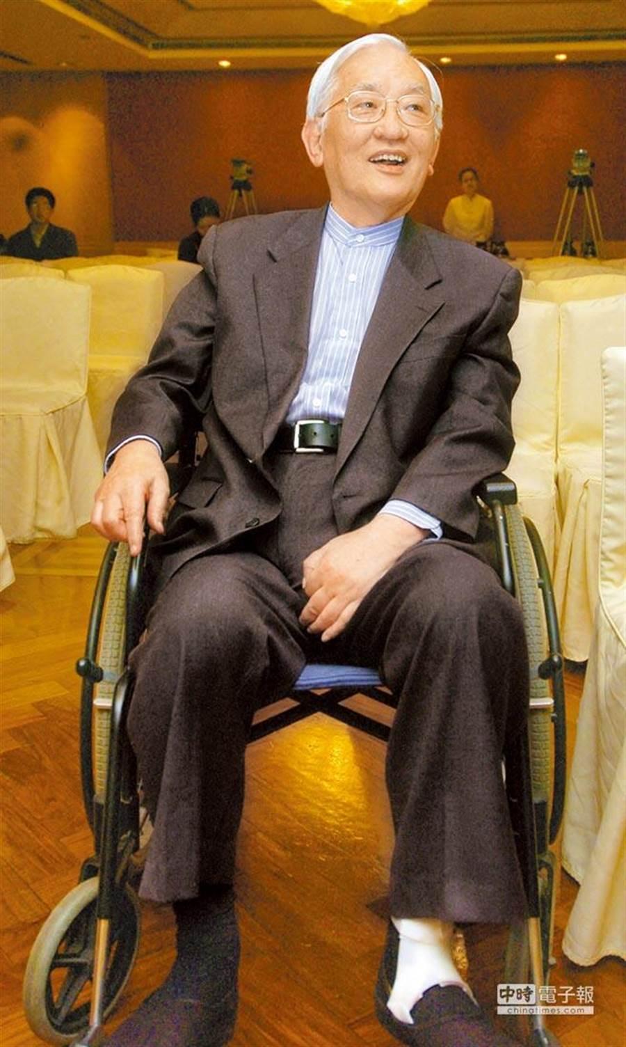 前清華大學校長沈君山今晨病逝,享壽87歲。(本報資料照片)