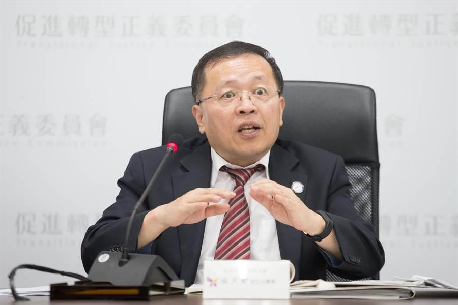 行政院促进转型正义委员会副主任委员张天钦。(图/本报资料照,杜宜谙摄)