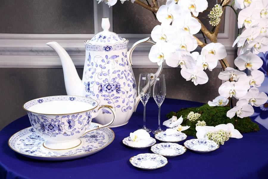 NARUMI精美的骨瓷是兼具實用性和設計性的日本正宗高品質骨瓷品牌代表。(NARUMI提供)