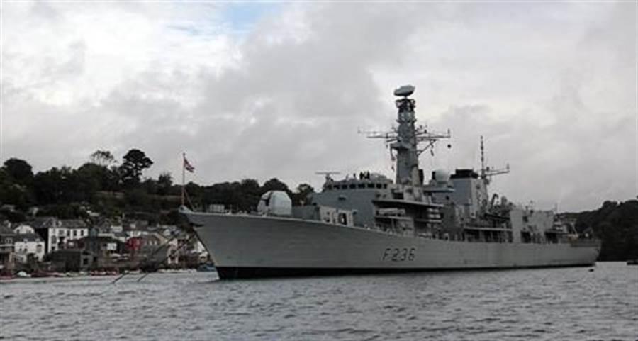 英國蒙特羅斯公爵號(HMS Montrose)巡防艦將常態巡南海。(圖/英國皇家海軍官網)