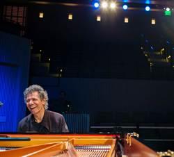 77歲一尾活龍 爵士鋼琴大師奇克‧柯瑞亞獨奏秀即興