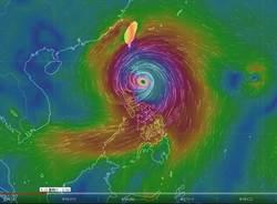 山竹颱風眼再長大 李富城:東部雨勢非常非常驚人