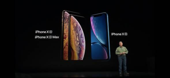 蘋果秋季新品發表會,發表了全新的iPhone Xs、iPhone Xs Max。(翻攝發表會直播影片)