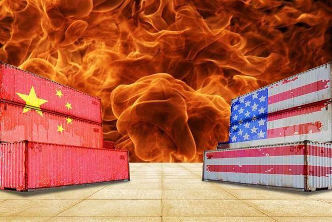 中美貿易戰升溫(圖/達志影像)