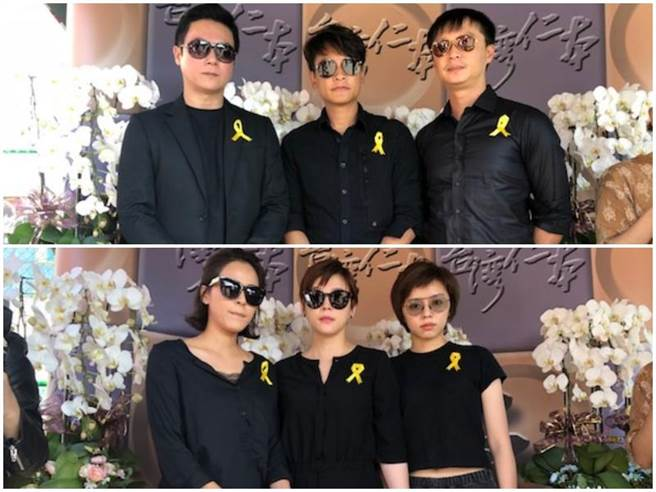 王燦(上左起)、王建復、何豪傑、蘇晏霈(下左起)、方馨、王瞳。(洪秀瑛林口攝)