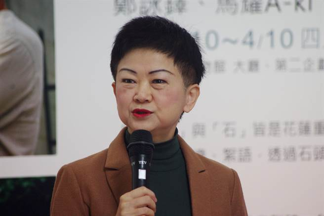 文化局長陳淑美申請退休。(許家寧攝)