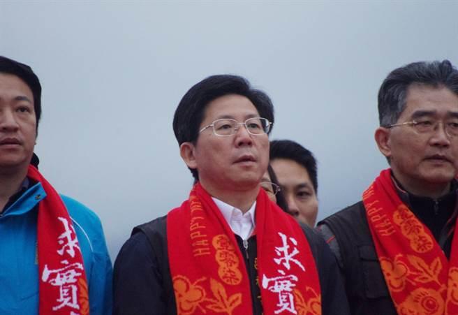 衛生局長李宏滿退職。(許家寧攝)