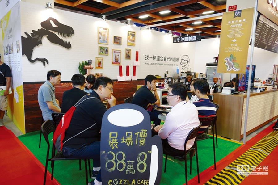 台灣連鎖加盟促進協會每年舉辦多場連鎖加盟展,媒合許多加盟創業商機。圖/業者提供