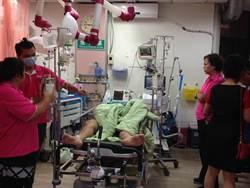南投市嚴重車禍 重傷病患辦理轉院