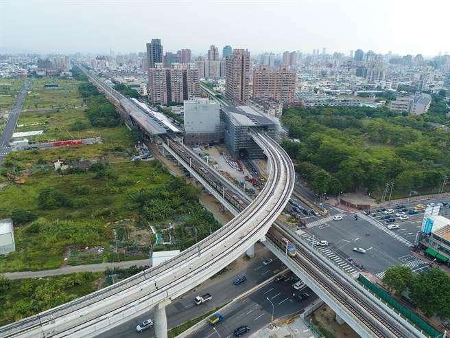 台中捷運綠線預計2018年試運轉,2020年全線通車,台中捷運藍線接力啟動,預計2020年動工,2030年通車。(盧金足攝)