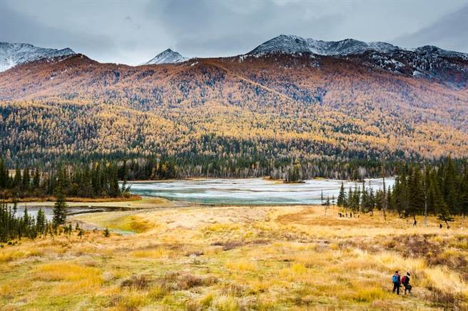 9、10月份的新疆進入一年之中最美的季節。圖:南航提供