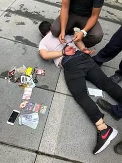 車手落跑推警撞欄杆 受傷警忍痛追人逮捕