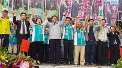 台南》黃偉哲、李宗翰競選總部成立 2千人到場相挺
