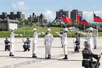 三軍儀隊赴友邦操演 嚴德發:國防支持外交、讓國際看見台灣