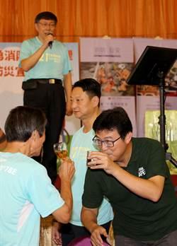 台北》姚文智最新民調 朱學恒酸:快跌回啤酒酒精濃度了