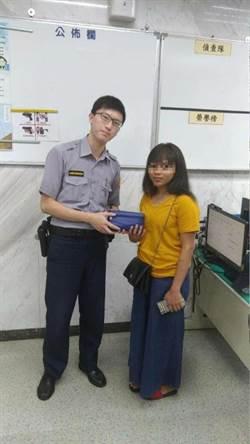 警熱心查訪 助印尼女尋回錢包 拾獲店家原封歸還