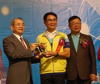 全國體育會聯合總會表揚體育有功人員,嘉義市體育會理事長孫貫志獲表揚