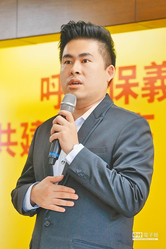 新黨青年軍王炳忠。(本報系資料照片)