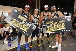 桃園3x3國際挑戰者盃籃球賽 桃園隊8強唯一台灣代表