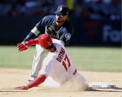 MLB》盜壘失敗又折兵 大谷翔平左腳踝扭傷