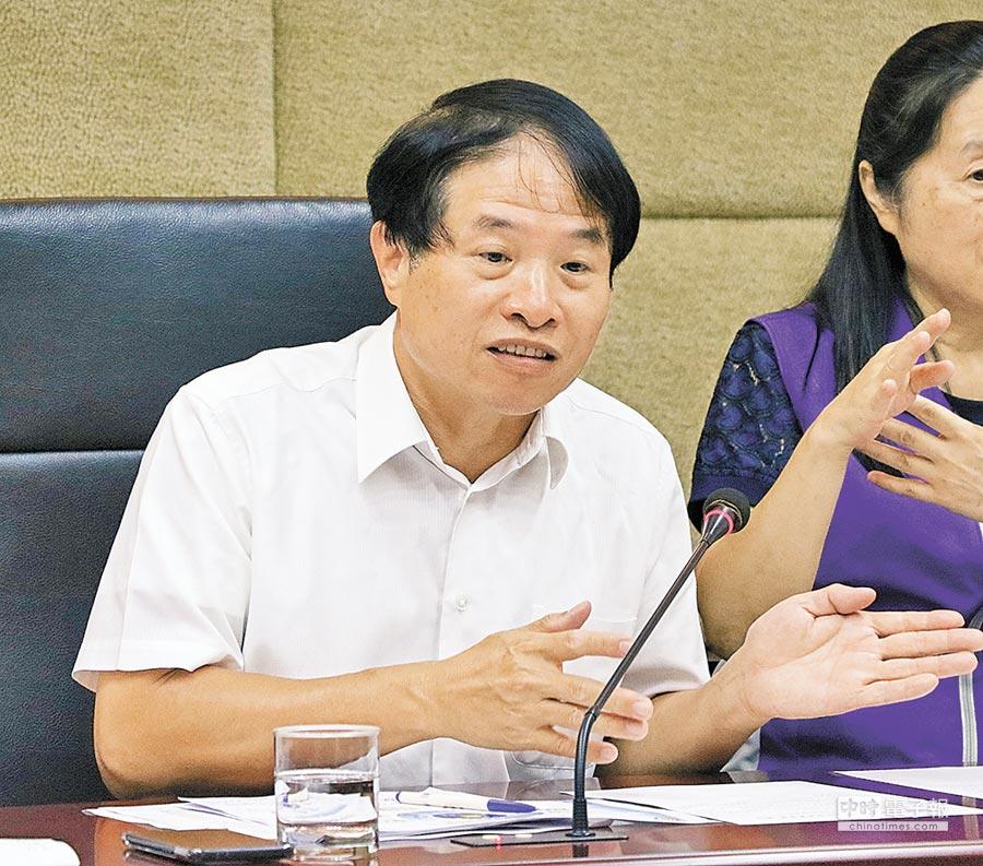 (資料照片)  NCC副主委翁柏宗:台灣畢竟不是5G技術標準的制訂者,所以應該當個「聰明的跟隨者」