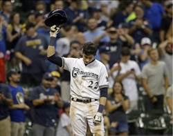 MLB》兩次完全打擊 釀酒人葉利奇創紀錄