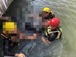 心意已堅 男子吞藥割腕跳湖輕生消防隊搶救保命