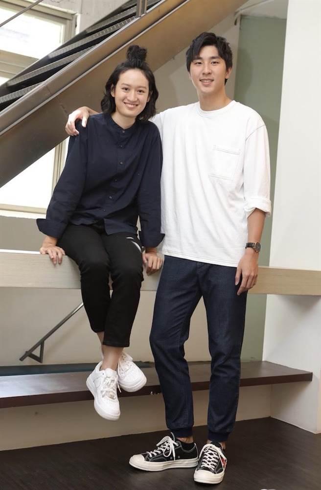 安安和葉慈毓今受訪。(公視提供)