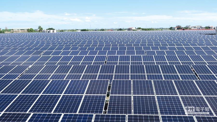 新日光取代友达,上半年太阳能模组出货居冠。图/本报资料照片