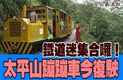 《全台最速報》鐵道迷集合囉!睽違6年 太平山蹦蹦車今復駛