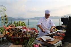 中秋烤肉賞美景  雲品推出「戶外燒烤Bar」