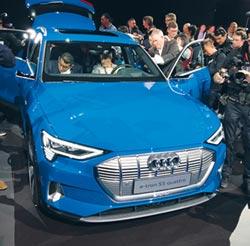 奧迪 在美發表純電動SUV