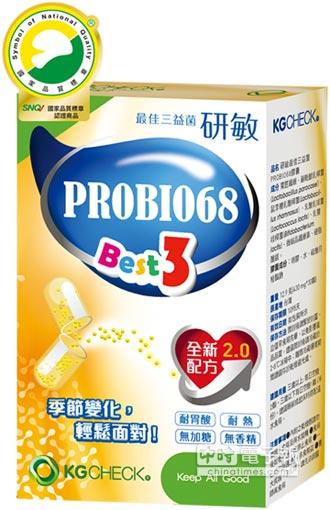 聯華食品研敏最佳三益菌膠囊 獲SNQ認證