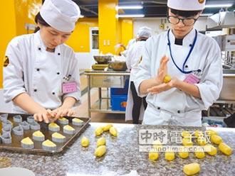 培育廚藝職人 台觀新生報到達65%