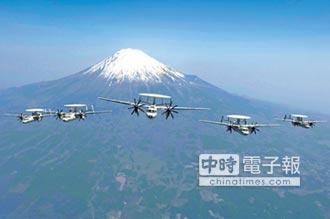 美售日9架E-2D預警機 防堵陸威脅