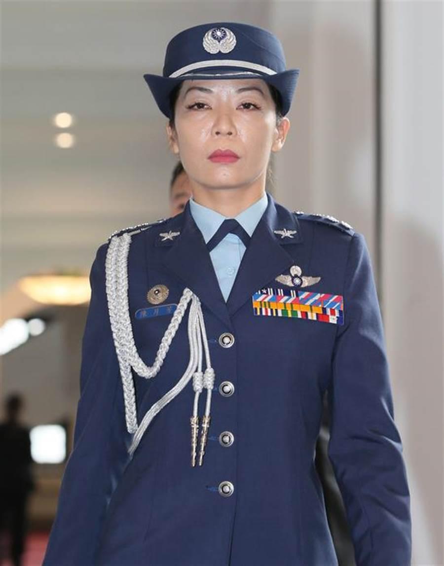 空軍上校陳月芳與總統隨扈王盈凱發生婚外情。(總統府資料照)