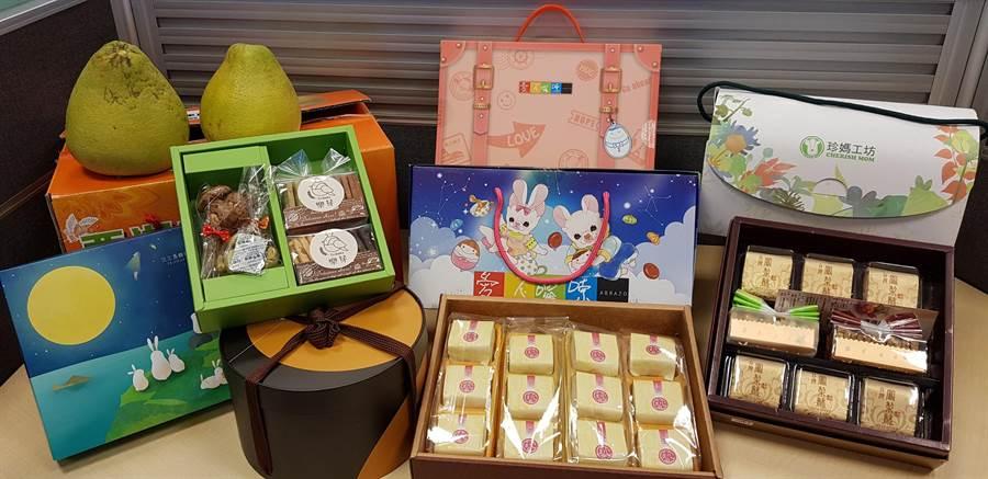 為支持社福團體自立,團購月餅做愛心,台新採購百萬秋節禮盒,協助8家社福團體。(圖:台新銀行提供)