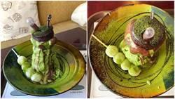 釜山超人氣熔岩系甜點「抹茶熔岩冰」!戳一下就流出來好療癒喔!