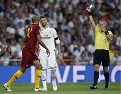 上季決賽弄傷埃及梅西 皇馬隊長今成歐冠黃牌王