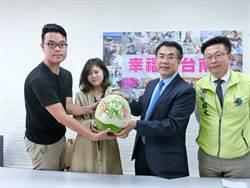 台南》拉攏年輕選票 黃偉哲變身「西瓜哲」 蘇煥智舉辦音樂會