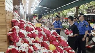 水果店占道經營長達五年 店長竟稱地已買下