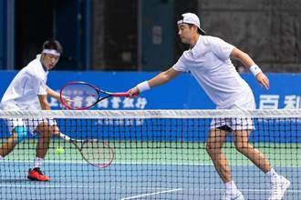 海碩男網賽》搶十局壓制對手 王宇佐、許育修聯手進4強