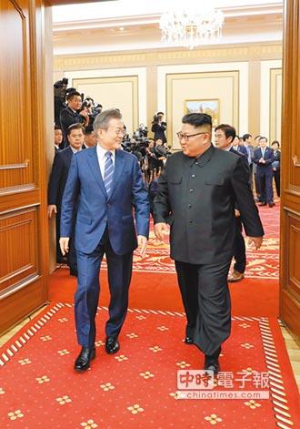共攀長白山、回訪首爾 金正恩政治秀 凸顯兩韓一家親